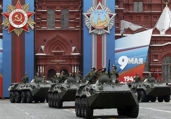 parada na Crvenom trgu u Moskvi