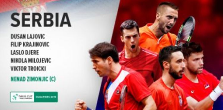 tenis dejvis kup kvalifikacije za finalni turnir u madridu uzbekistan srbija 2-3 sastav reprezentacije