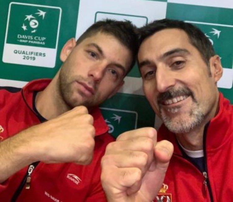 tenis dejvis kup kvalifikacije za finalni turnir u madridu uzbekistan srbija 2-3 filip krajinovic junak nenad zimonjic selektor