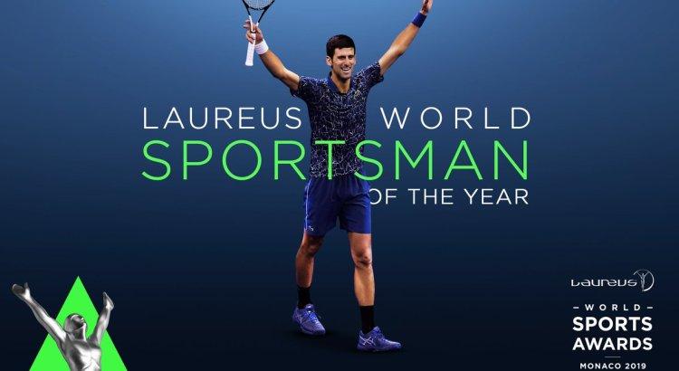 sportski oskar laureus nagrade monako 2019 novak djokovic cetvrti put najbolji sportista sveta planete