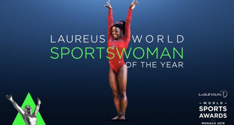 najbolja sportistkinja sveta u 2018. godini američka gimnastičarka simon bajls