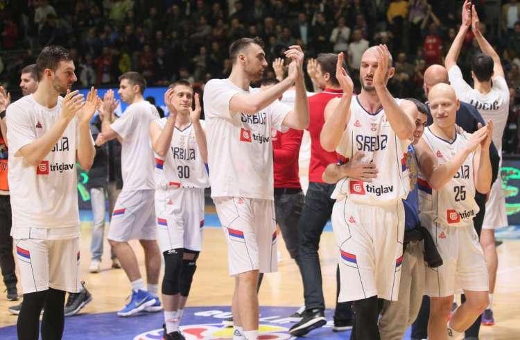 kvalifikacije za svetsko prvenstvo za kosarkase srbija izrael 97 76 beograd pionir