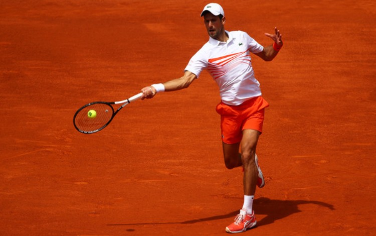 ATP Masters 1000 turnir Madrid Španija 2019 šljaka Kaha Mahika magična kutija Novak Đoković Žeremi Šardi 2-0