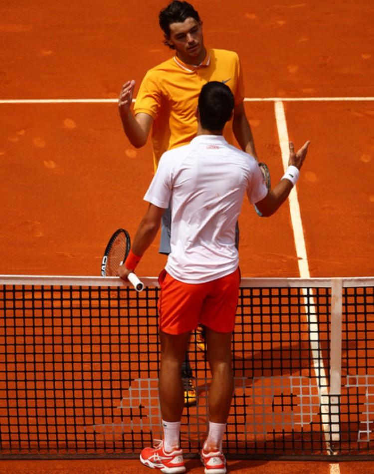 ATP Masters 1000 turnir Madrid Španija 2019 šljaka Kaha Mahika magična kutija Novak Đoković Tejlor Hari Fric 2-0