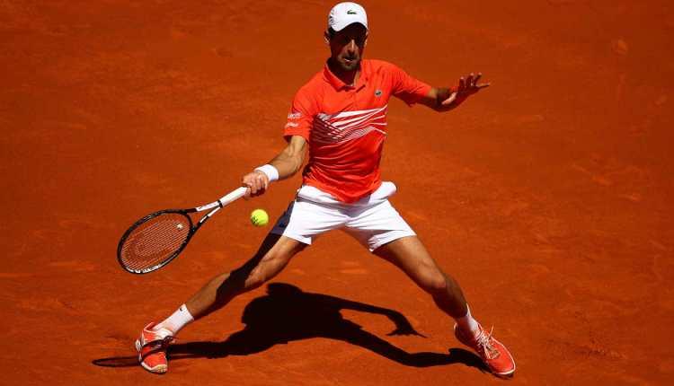 Novak Đoković Dominik Tim 2-0 polufinale ATP Masters 1000 turnira u Madridu šljaka
