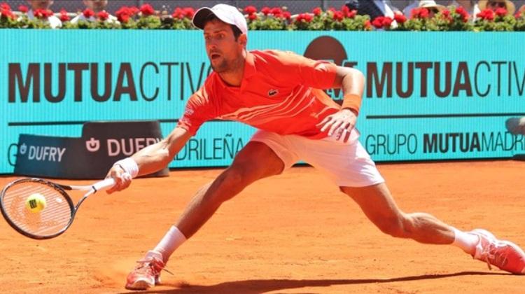 ATP masters 1000 Madrid šljaka 2019 novak djokovic stefanos cicipas 2-0 finale