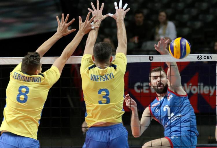 srbija ukrajina 3-2 cetvrtfinale evropskog prvenstva za odbojkase 2019 domacini francuska slovenija belgija i holandija primac servisa uros kovacevic