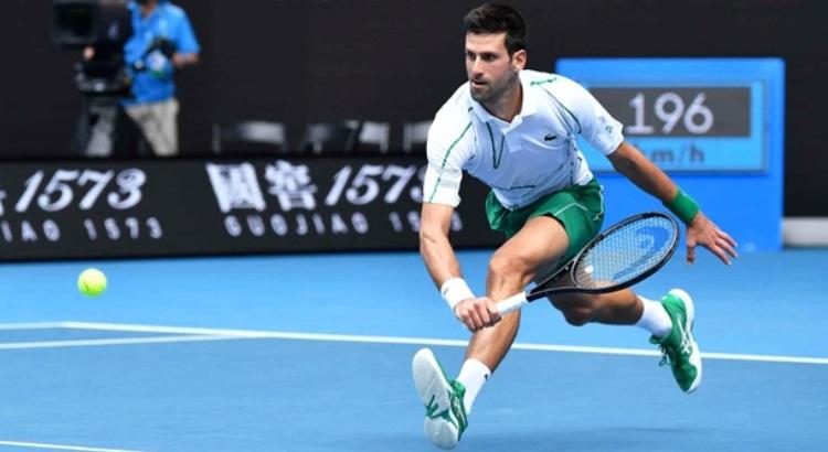 tenis Australijen Open Melburn 2020 Novak Djokovic Rodzer Federer polufinale