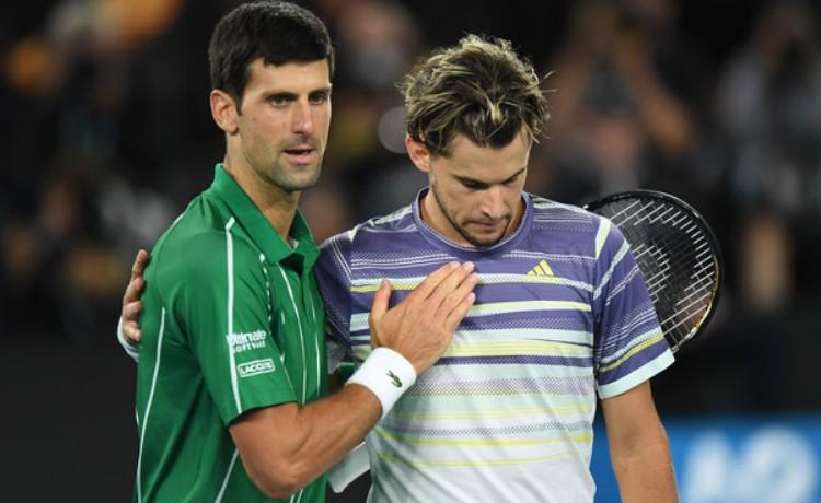 novak djokovic dominik tim finale australijen opena u tenisu 3-2 u setovima