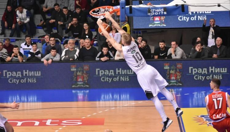 Kup Radivoja Koraća muška košarka Partizan Crvena zvezda Andrea Trinkjeri Dragan Šakota Ognjen Jaramaz Markus Pejdž Novica Veličković košarkaši