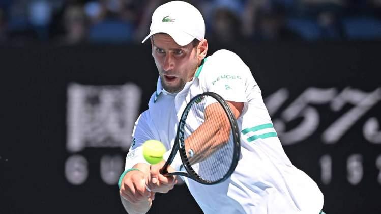 tenis novak djokovic milos raonic 3-1 cetvrrto kolo australijen open melburn 2021