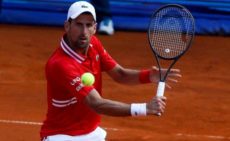 tenis novak djokovic aleks molcan 2-0 6:4 6:3 ATP 250 beograd finale
