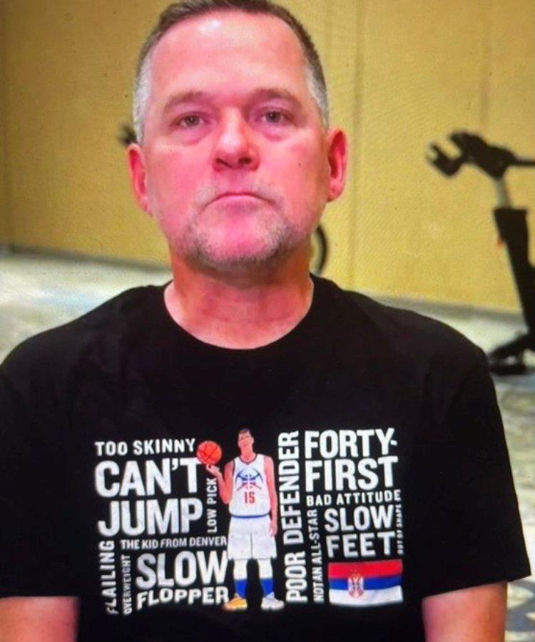nikola jokic najkorisniji igrac MVP regularnog dela sezone 2020-21 NBA lige trener denver nagetsa majkl meloun