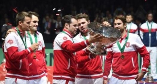 FINALE DEJVIS KUPA U TENISU: Prva titula za Švajcarsku, Vavrinka najzaslužniji, Federeru slava