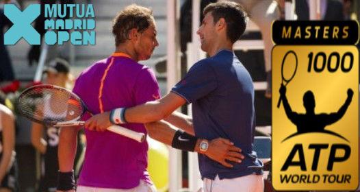 ATP MASTERS 1000 TURNIR U MADRIDU: Novak bez finala, Nadal mnogo bolji