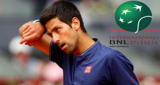 ATP I WTA TURNIR U RIMU: Novak bolji od Bedenea, žestoka borba u prvom setu