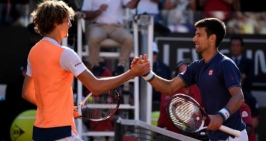 ATP I WTA TURNIR U RIMU: Novak poražen u finalu od Zvereva, Agasi novi trener srpskog tenisera