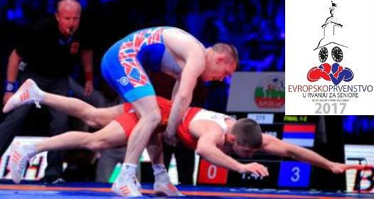 ZAVRŠENO EVROPSKO PRVENSTVO U RVANJU U NOVOM SADU: Tri medalje za Srbiju, Kristijan Fris šampion Evrope