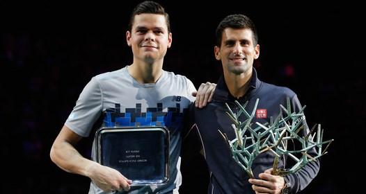 ZAVRŠEN ATP TURNIR MASTERS 1000 SERIJE U PARIZU: Novak bez izgubljenog seta do nove titule
