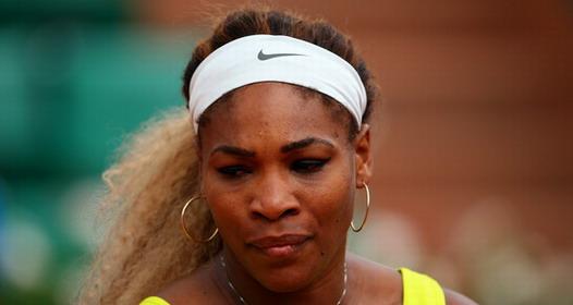 ROLAN GAROS: Serena Vilijams nokautirana u drugoj rundi