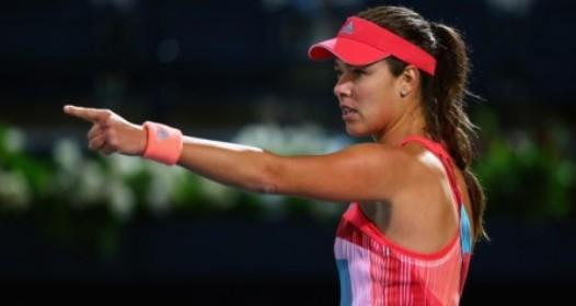 WTA TURNIR U DUBAIJU: Ana pobedila Simonu Halep, Jelena poražena od Andree Petković