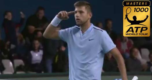 ATP MASTERS 1000 TURNIR U PARIZU: Fantastičan uspeh Filipa Krajinovića, Viktor zaustavljen na startu