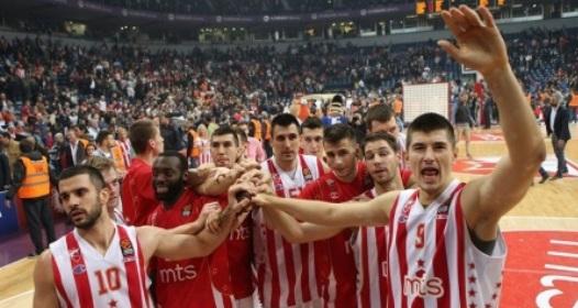 PRVA FAZA KOŠARKAŠKE EVROLIGE - 8. KOLO: Novi podvig Zvezde, ubedljiva pobeda protiv Armanija