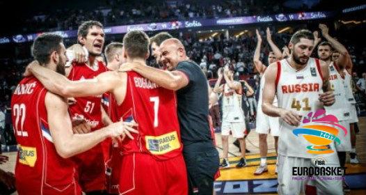EVROPSKO PRVENSTVO ZA KOŠARKAŠE 2017: Srbija u finalu, sa Slovenijom borba za zlato