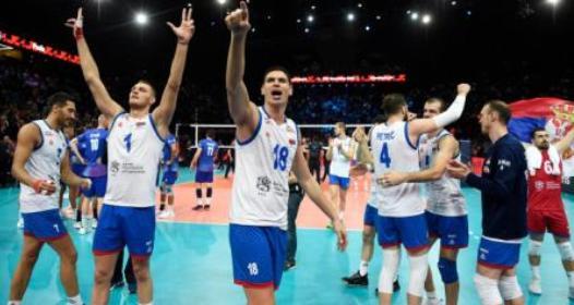 EVROPSKO PRVENSTVO ZA ODBOJKAŠE 2019 -POLUFINALE: Srbija silna u Parizu, Francuska nokautirana u petoj rundi