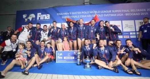 FINALNI TURNIR SVETSKE LIGE U VATERPOLU BEOGRAD 2019: Srbija šampion, obezbeđen i plasman na Olimpijske igre u Tokiju naredne godine