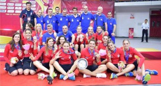 FINALNI TURNIR SVETSKOG GRAN PRIJA 2017 ZA ODBOJKAŠICE: Bronza za Srbiju, Brazil odbranio tron