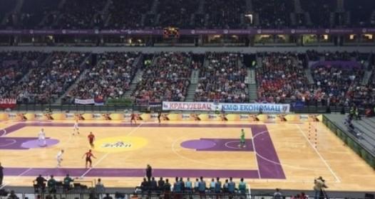 KVALIFIKACIJE ZA SVETSKO PRVENSTVO U FUTSALU: Nezaslužen poraz Srbije od Portugalije