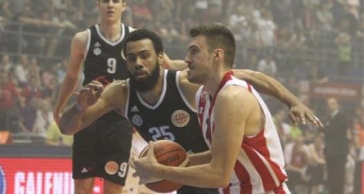 FINALNA SERIJA KOŠARKAŠKE LIGE SRBIJE: Zvezda vodi 2:0, Gudurić nokautirao Partizan