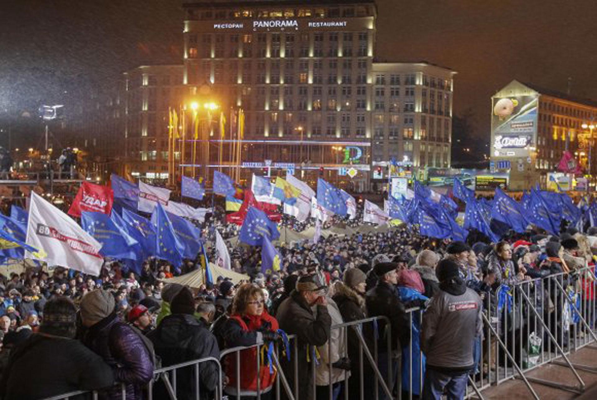 Sukobi u Kijevu tokom protesta