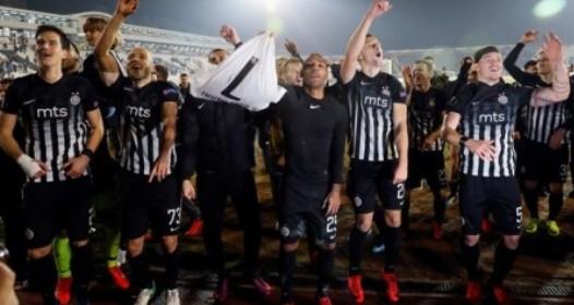 LIGA EVROPE U FUDBALU: Partizan se plasirao u nokaut fazu, Zvezdi neophodan remi protiv Kelna
