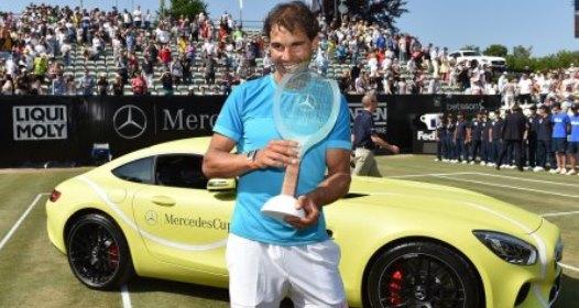 ZAVRŠEN ATP 250 ŠTUTGART: Odlična igra Viktora Troickog, Rafael Nadal ipak bolji u finalu