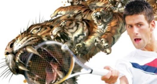 ATP FINALE U LONDONU: Novak kao razjareni tigar, nemilosrdan i protiv Vavrinke