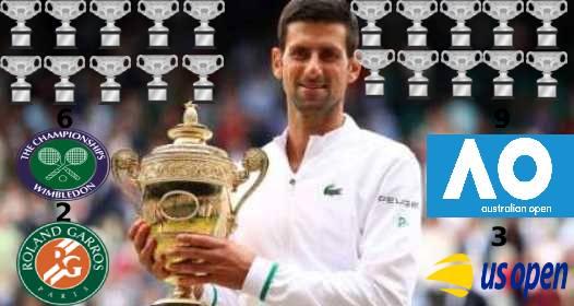 ZAVRŠENO OTVORENO PRVENSTVO ENGLESKE VIMBLDON 2021: Novak šampion, preuzeo vođstvo u trci za najboljeg tenisera svih vremena