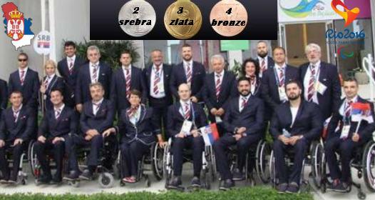 ZAVRŠENE XV PARAOLIMPIJSKE IGRE U RIO DE ŽANEIRU: Veliki uspeh Srbije, osvojeno čak devet medalja