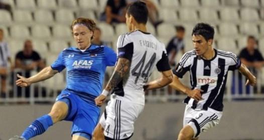 POČELA LIGA EVROPE U FUDBALU: Partizan bolji od AZ Alkmara, prekinut post dug šest godina