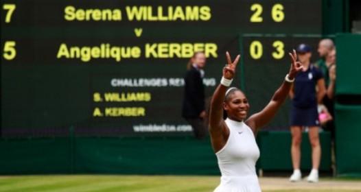 VIMBLDON - 12. DAN: Serena Vilijams šampionka, Miloš Raonić šokirao Rodžera Federera