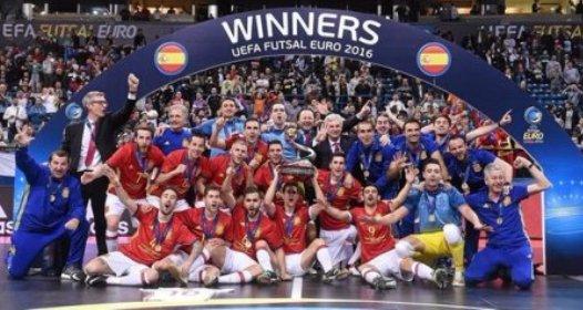ZAVRŠENO EVROPSKO PRVENSTVO U FUTSALU: Španija šampion, Srbija četvrta