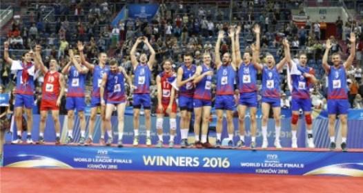 FINALNI TURNIR SVETSKE LIGE ZA ODBOJKAŠE: Čudesna Srbija deklasirala Brazil, Ivović MVP
