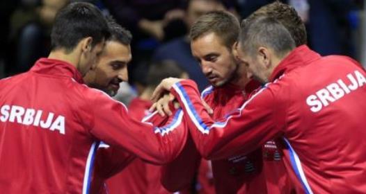 PRVO KOLO SVETSKE GRUPE DEJVIS KUPA: Trijumf Srbije, Novak i Nenad slavili u dublu