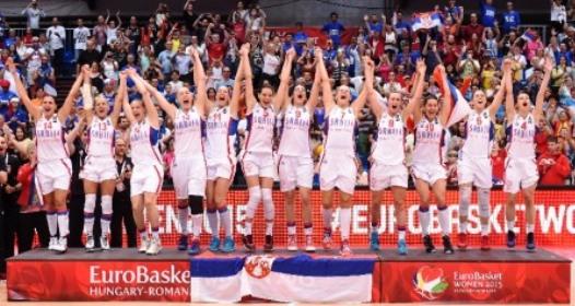 ZAVRŠENO EP U KOŠARCI ZA DAME: Srbija prvi put šampion Evrope, izboren plasman na OI u Riju