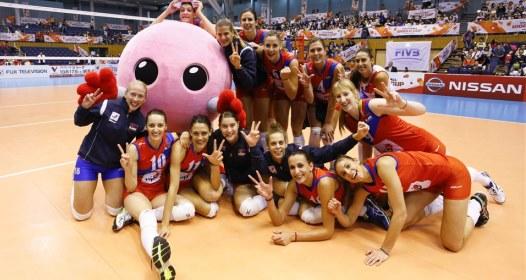 ZAVRŠEN SVETSKI KUP ZA ODBOJKAŠICE U JAPANU: Srebro za Srbiju, obezbeđen put u Rio