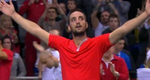 SVETSKA GRUPA DEJVIS KUPA - PRVO KOLO: Srbija u četvrtfinalu, žestok otpor Rusije