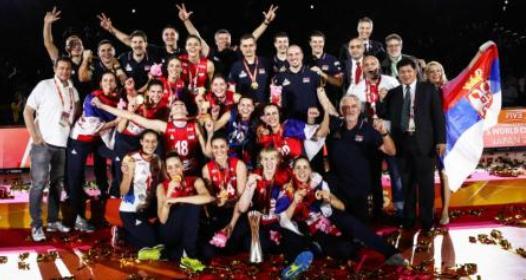ZAVRŠENO SVETSKO PRVENSTVO ZA ODBOJKAŠICE U JAPANU 2018: Srbija prvak sveta, Tijana Bošković MVP šampionata