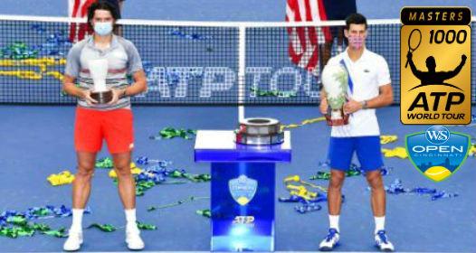 ZAVRŠEN ATP WTA TURNIR SINSINATI-NJUJORK 2020: No1e šampion, kompletirao i drugi Zlatni masters, uz jubilarnu 80. titulu u karijeri