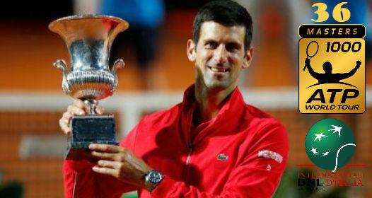 ZAVRŠEN ATP MASTERS 1000 TURNIR U RIMU 2020: Nova titula i novi rekordi za Novaka Đokovića
